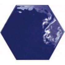 Equipe Hexatile Brillo COBALTO 17,6x20,1 fali csempe