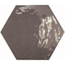 Equipe Hexatile Brillo GRIS OSCURO 17,6x20,1 fali csempe