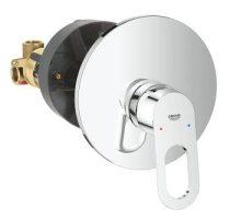 Grohe 29080000 BauLoop falba épített egykaros zuhanycsaptelep komplett.
