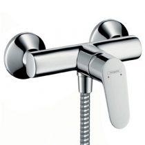Hansgrohe 31960000 Focus E2 egykaros zuhanycsaptelep DN15 falsíkon kívüli szereléshez, króm