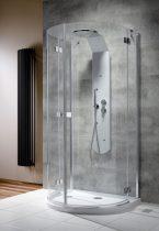 Radaway Almatea P félkör íves zuhanykabin