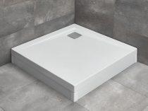 Radaway Argos C szögletes zuhanytálca lábbal + szifon