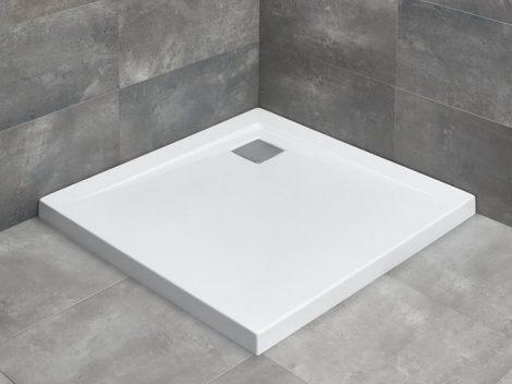 Radaway Argos C szögletes zuhanytálca lapos + szifon
