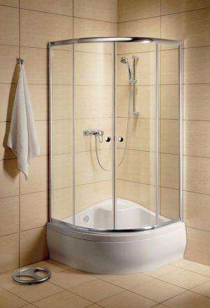 Radaway Classic A 1700 Íves zuhanykabin