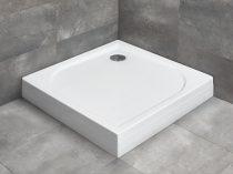 Radaway Delos C szögletes zuhanytálca lábbal + szifon