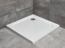 Radaway Delos C szögletes zuhanytálca lapos + szifon