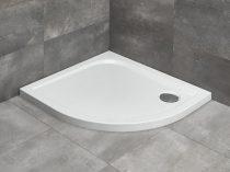 Radaway Delos E aszimmetrikus íves zuhanytálca + szifon