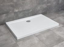 Radaway Doros D aszimmetrikus szögletes zuhanytálca + szifon
