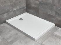 Radaway Doros F aszimmetrikus szögletes zuhanytálca lábbal + szifon