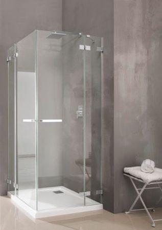 Radaway Euphoria KDD szögletes zuhanykabin