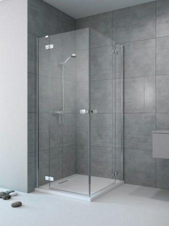 Radaway Fuenta New KDD szögletes zuhanykabin