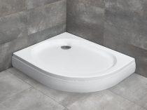 Radaway Patmos E aszimmetrikus íves zuhanytálca + szifon