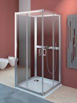 Radaway Premium Plus C+2S hátfalas szögletes zuhanykabin Megszűnt!