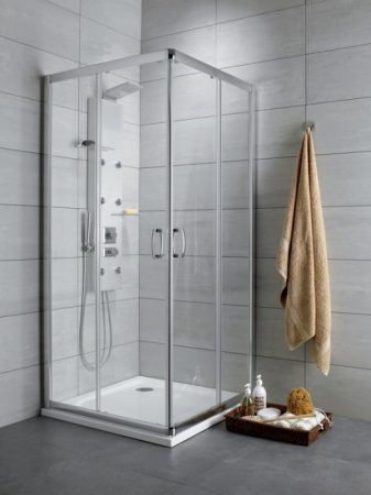 Radaway Premium Plus C/D szögletes zuhanykabin