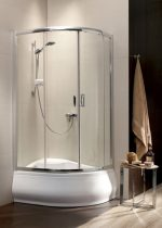 Radaway Premium Plus E1700 íves zuhanykabin