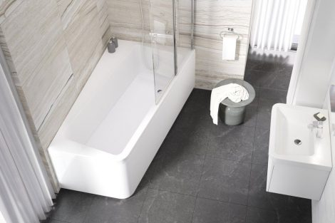 Ravak 10° akril aszimmetrikus fürdőkád