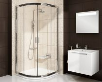 Ravak Blix BLCP4 négyrészes negyedköríves zuhanykabin