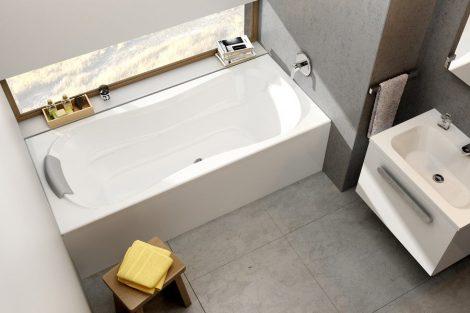 Ravak Campanula II akril egyenes fürdőkád