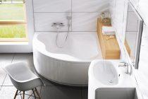 Ravak Gentiana akril sarok fürdőkád