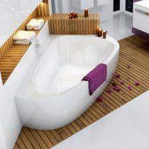 Ravak LoveStory II akril aszimmetrikus fürdőkád