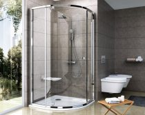 Ravak Pivot PSKK3 háromrészes negyedköríves kifelé nyíló zuhanysarok