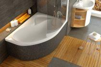 Ravak Rosa II akril aszimmetrikus fürdőkád