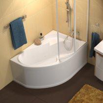 Ravak Rosa I akril aszimmetrikus fürdőkád