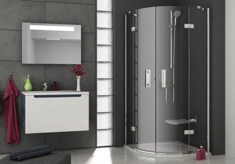 Ravak SmartLine SMSKK4 íves zuhanykabin