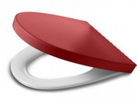 Roca Khroma Passion Red lecsapódásgátlós wc tető 801652F3T
