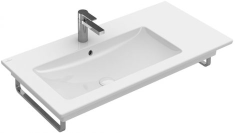 Villeroy & Boch Venticello 4134 L101 100x50 1 csaplyukas balos beépíthető mosdó