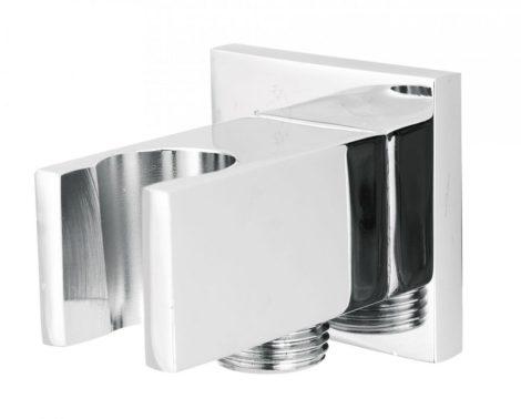 Deante Cascada szögletes sarokszelep zuhanytartóval NAC 052K