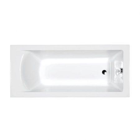M-acryl Fresh 170x70 egyenes akril kád + kádláb