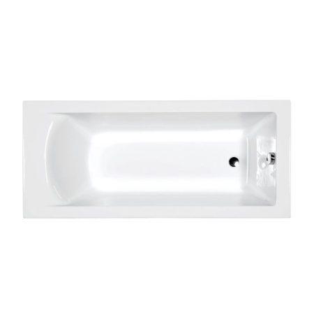 M-acryl Fresh 180x80 egyenes akril kád + kádláb