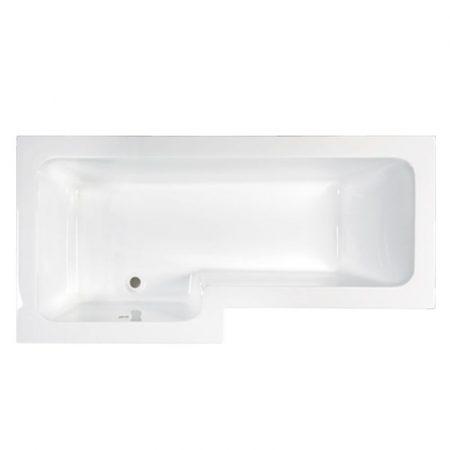 M-acryl Linea 170x70 aszimmetrikus akril kád jobbos/balos + kádláb