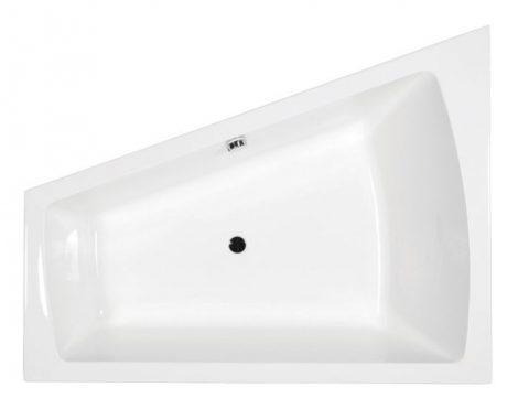 M-acryl Trinity 160x120 aszimmetrikus akril kád jobbos/balos + kádláb