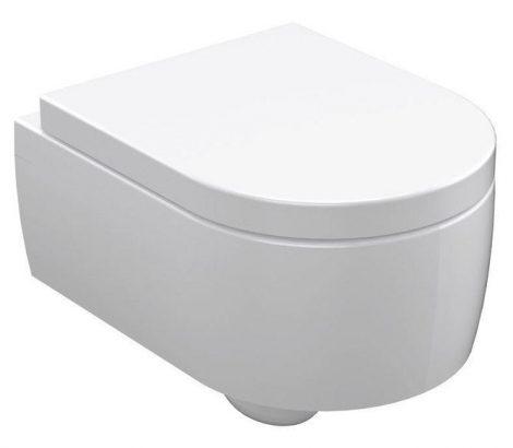 Sapho KERASAN FLO WC fali 36,5x34x50 cm (311501) WC ülőke nélkül