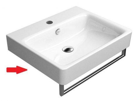 Sapho SAND mosdó 60x50cm törölközőtartó nélkül (9031111)
