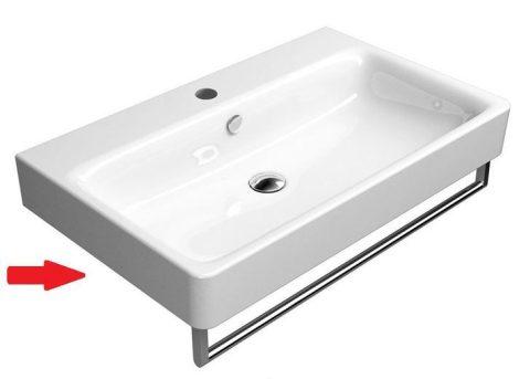 Sapho SAND mosdó 80x50cm  törölközőtartó nélkül  (9022111)