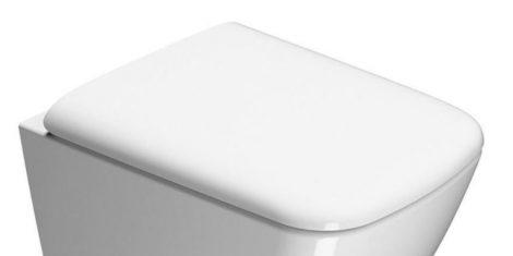 Sapho SAND WC ülőke soft close, fehér/króm   (MS90C11)