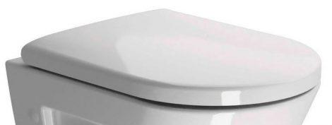 Sapho Wc ülőke duroplast, fehér/króm   (MS86N11)