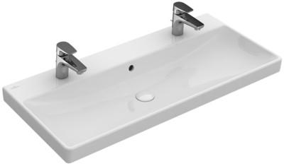 Villeroy & Boch Avento 4156 A401 100x47cm beépíthető mosdó