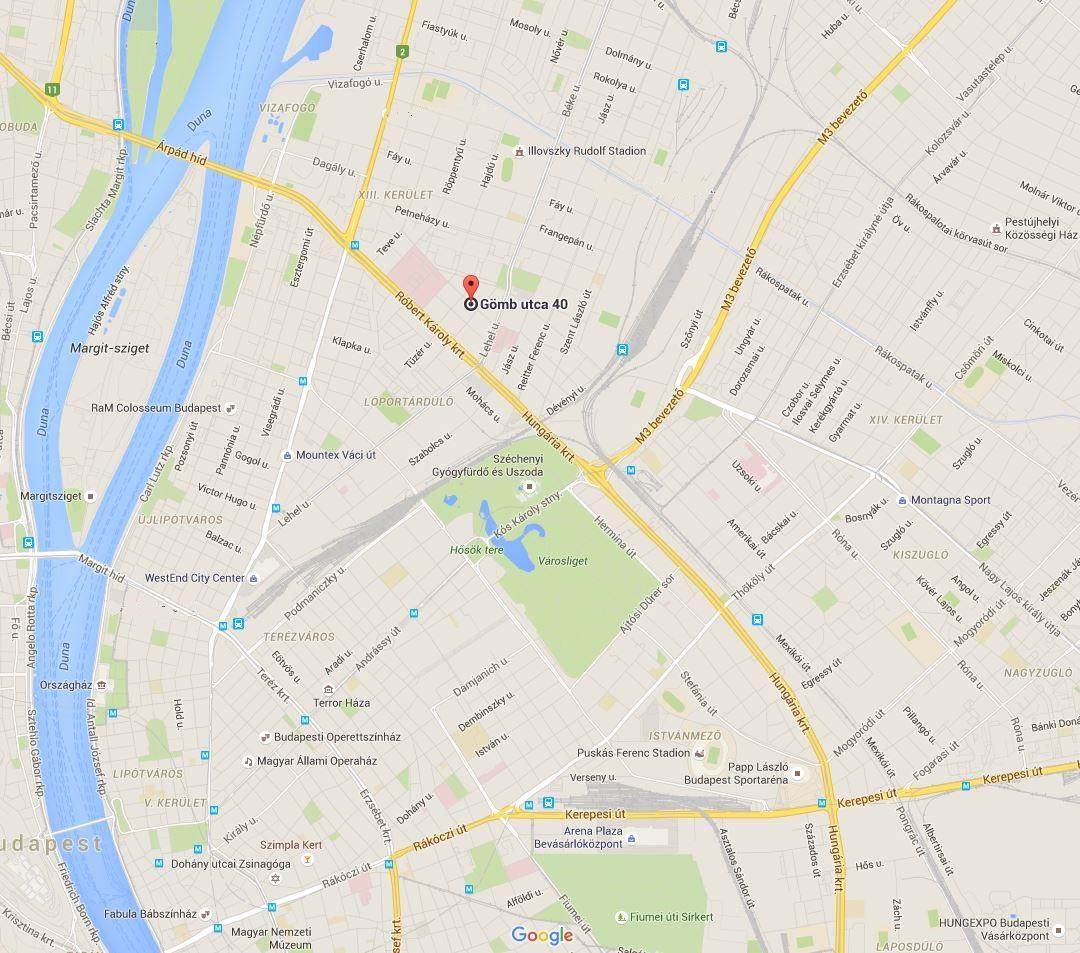 TÉR Kft. térkép